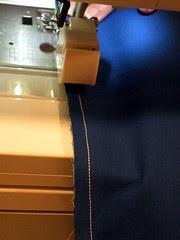 11-Sew along pinned edge