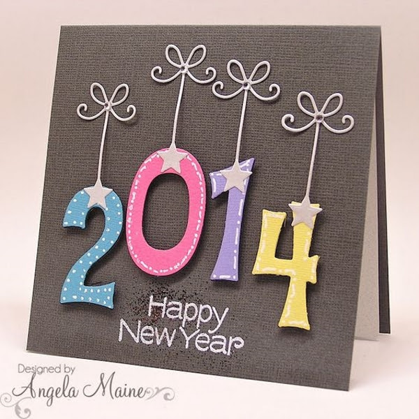 New Year Greeting Card Design Underfontanacountryinncom