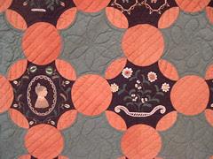 1820 Quilt block detail