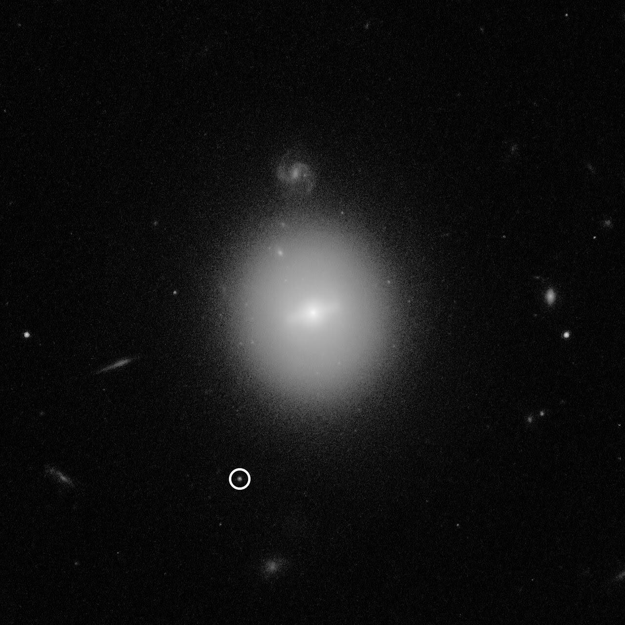 Hubble Observation Of Intermediate Mass Black Hole Esa Hubble