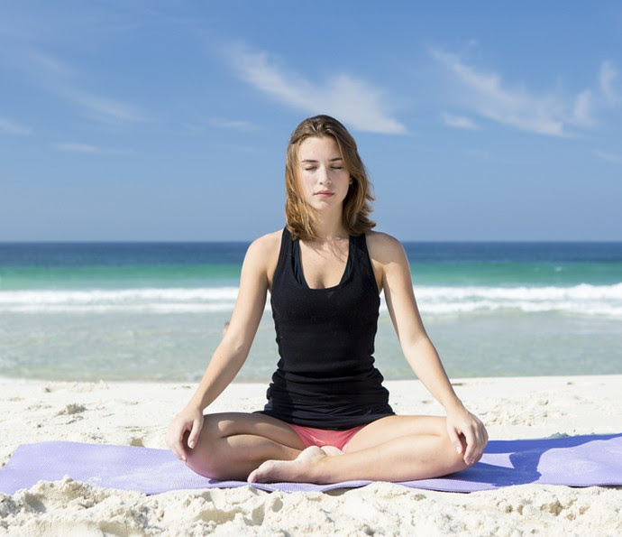 A atriz diz que se encontrou na meditação: 'Medito todos os dias' (Foto: Felipe Monteir/Gshow)