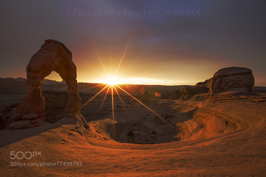 Photograph Delicate Light - Arches National Park, UT by taylor baskin on 500px