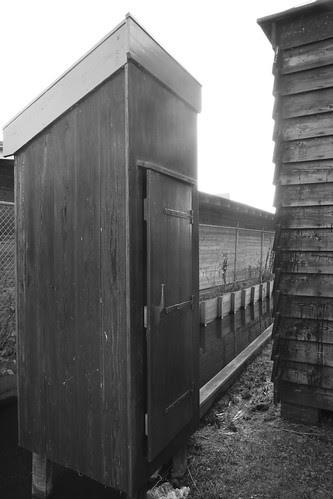 Outdoor toilet @ Papiermolen de Schoolmeester