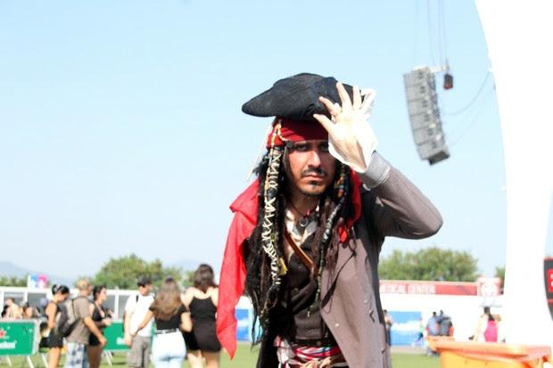 Johnny Depp (Foto: GRAÇA PAES /PHOTO RIO NEWS)