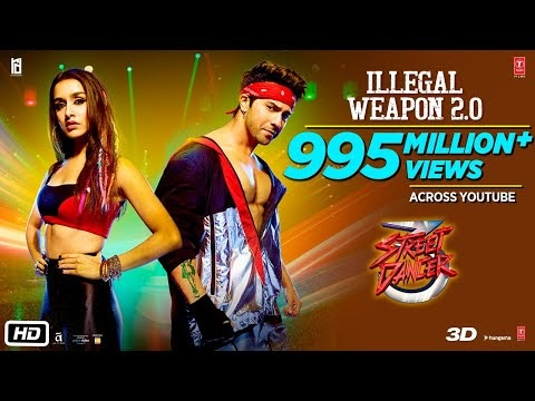 ILLEGAL WEAPON 2.0 SONG LYRICS – Street Dancer 3D