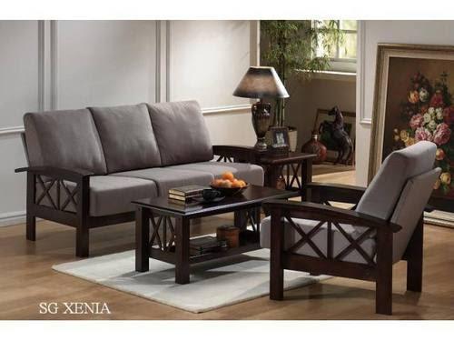 Wooden Sofa Set in Kirti Nagar, New Delhi, Delhi, India ...