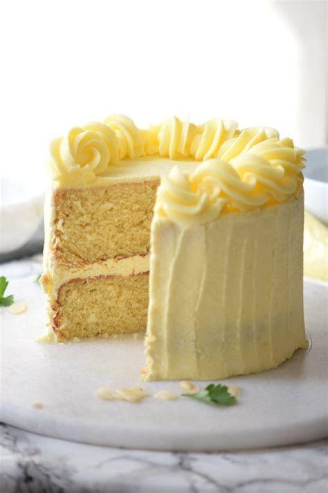The Very Best Vanilla Layer Cake   Recipe   Wedding cake