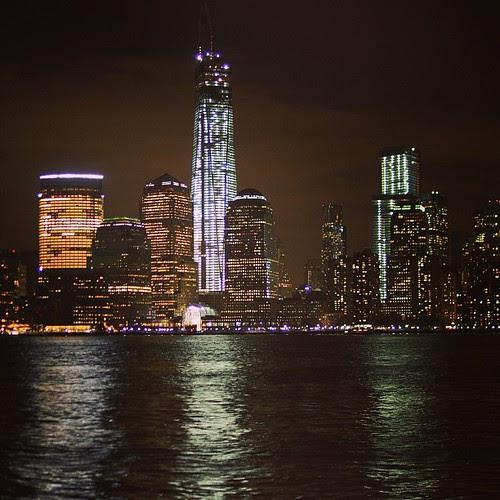 New York night! The ONE57,but...尚未完工。 Day_001
