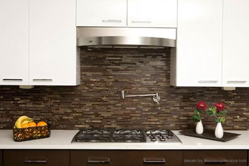 Pada gambar desain dapur diatas ini menggunakan tambahan add on berupa