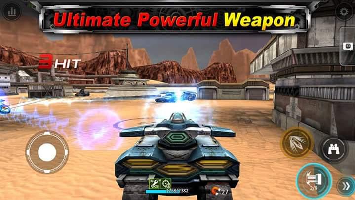 game bắn xe tăng Tank Hit miễn phí