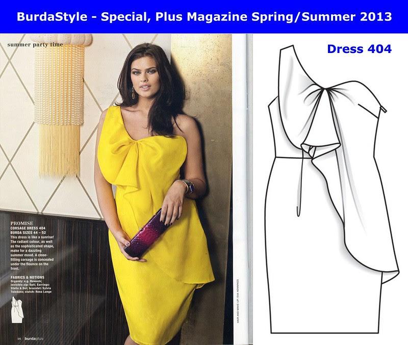 09 - BurdaStyle - PLUS Magazine Spring-Summer 2013