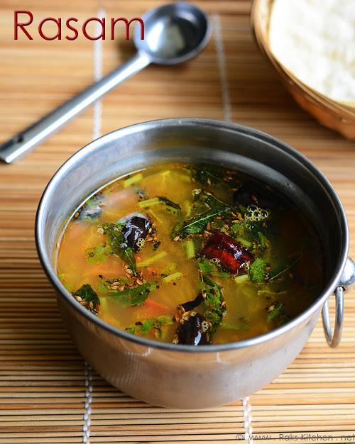 Easy rasam recipe - South Indian