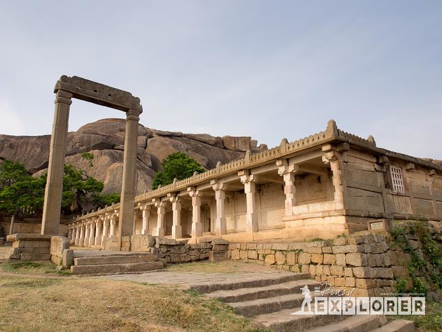 Inside Chitradurga Fort