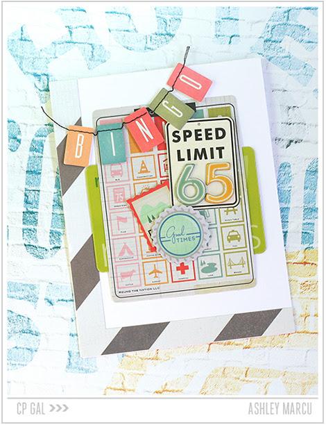 Crate Paper | Ashley Marcu | Bingo Card via The Open Road