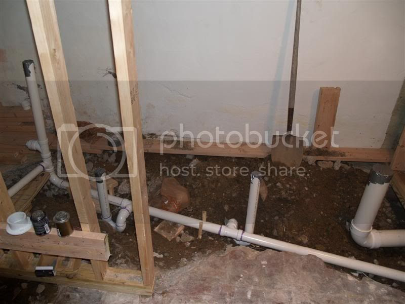 Basement Bathroom Plumbing