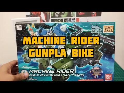 Bike for my Gunpla | Machine Rider | Gunpla Bike