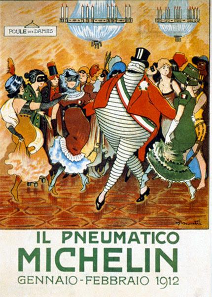 Michelin Man Bibendum, 1912