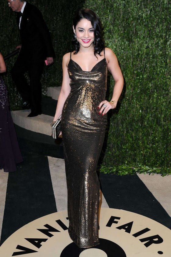 Vanessa Hudgens – Oscar 2013 – Vanity Fair Party -02