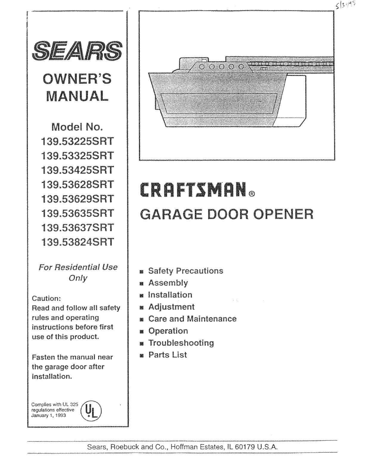 Craftsman Garage Door Opener Wiring Diagram 2005 Optima Wiring Diagram Jimny Waystar Fr