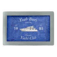 Yacht Club Yeah Buoy Belt Buckles