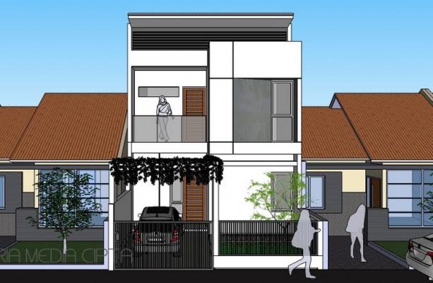 Desain Ekstensifikasi Rumah di Sawangan Depok