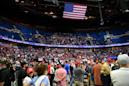 Trump campaign seeks to reset after flubbed rally