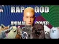 Eminem's 'Rap God' Sung By Animals - Video