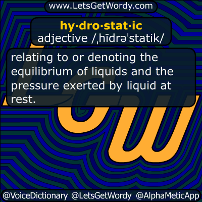 hydrostatic 03/16/2015 GFX Definition