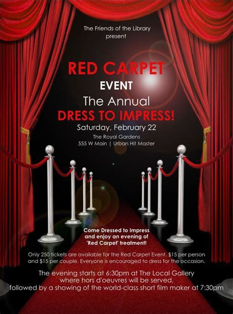 Red Carpet Flyer   Favors/Promotional Products in 2019