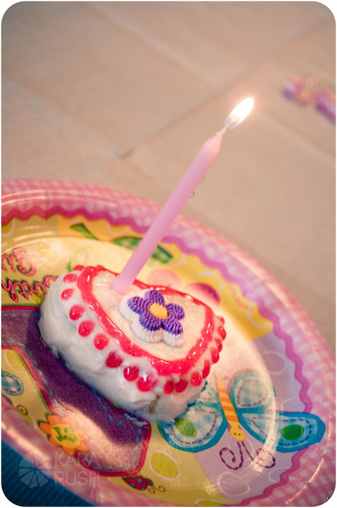 mini heart cake first birthday