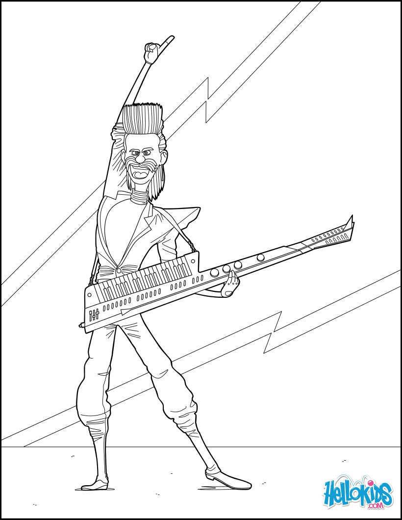 Dibujos Para Colorear Gru Mi Villano Favorito 3 Balthazar Bratt