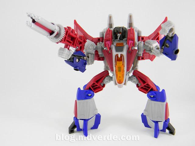 Transformers Starscream Deluxe - Generations Fall of Cybertron - modo robot