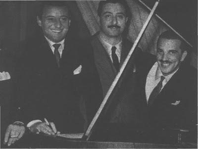 Julio Sosa, Francisco Rotundo y Jorge Duran