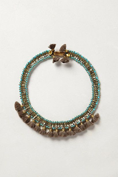 Angkor Bib Necklace - anthropologie.com