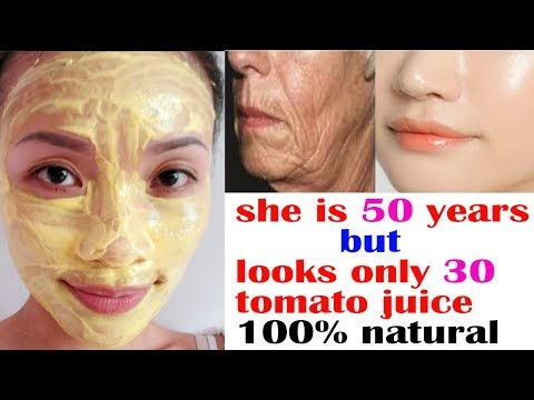 50 YEARS OLD WOMAN LOOK 30 । ANTI   AGING SKIN BRIGHTENING FACE WASH FOR...