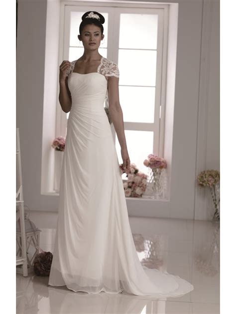 Phoenix Gowns Pretty Ivory Chiffon Wedding Dress W570