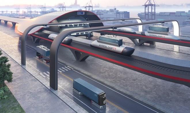 HyperPort позволит перемещать грузовые контейнеры на околозвуковых скоростях