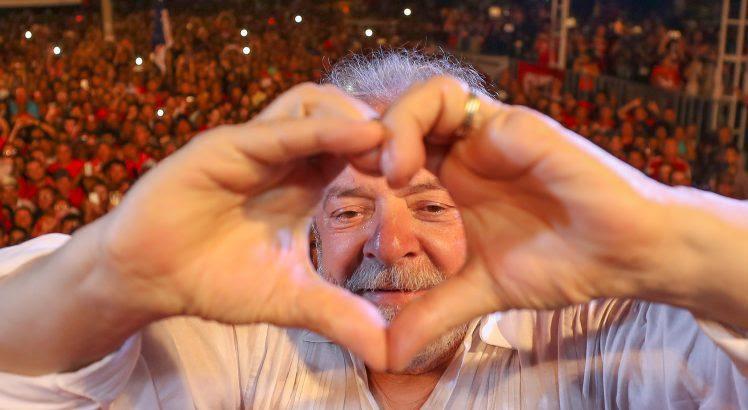 28/08/2017- Lula participa de Ato com Movimentos Sociais em Mossoró (RN)Foto: Ricardo Stuckert