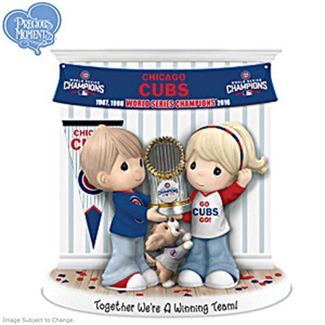 Together Were A Winning Team Chicago Cubs Precious Moments