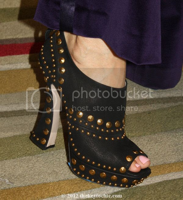 fall 2012 Miu Miu studded booties, studded heels