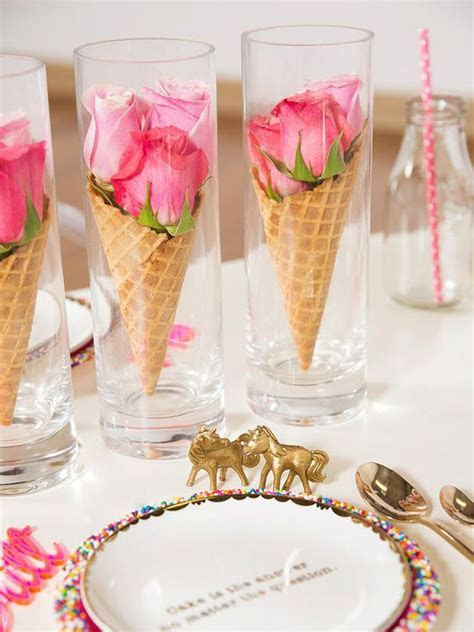 House Decorations and Accessories for Ice Cream Parties