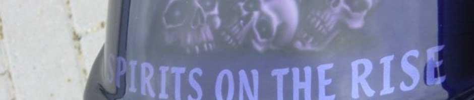 Skulls Flames Ll Choppers