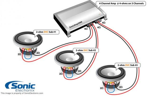 4 ohm subwoofer wiring diagram mono 3 dvc image 4