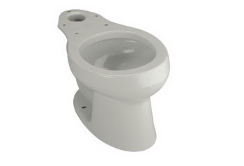 Kohler K 4277 95 Wellworth R Round Front Toilet Bowl Less Seat