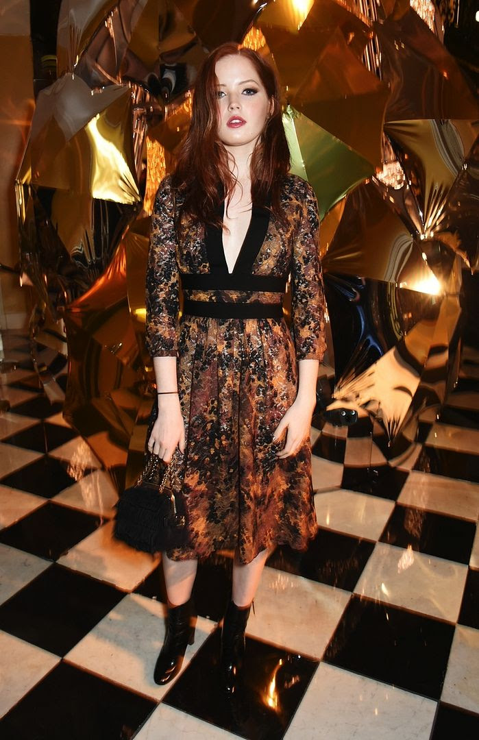 photo Ellie Bamber at the Burberry_Claridges Christmas Tree 2015 Event_zpsjgupxqt2.jpg