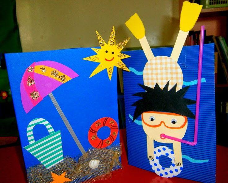 Summer craft  Crafts and Worksheets for Preschool,Toddler and Kindergarten