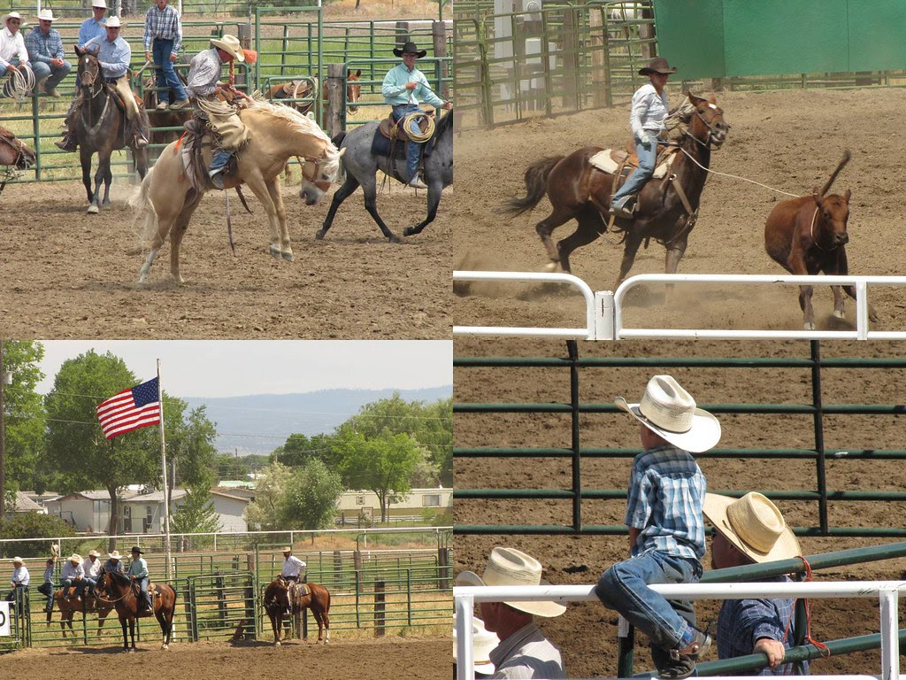 Ranch Hand Rodeo Collage