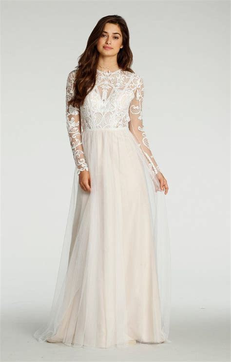 Ti Adora by Alvina Valenta 7702 Long Sleeve Lace Sample