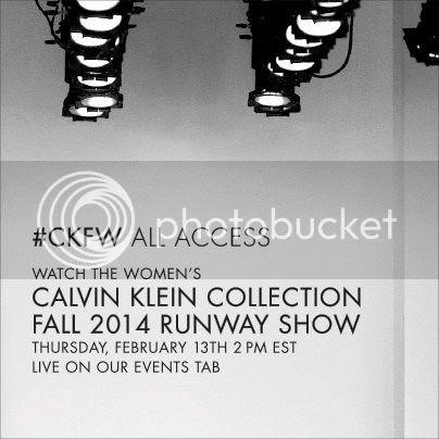 Calvin Klein Collectionfall winter 2014/15 show livestream