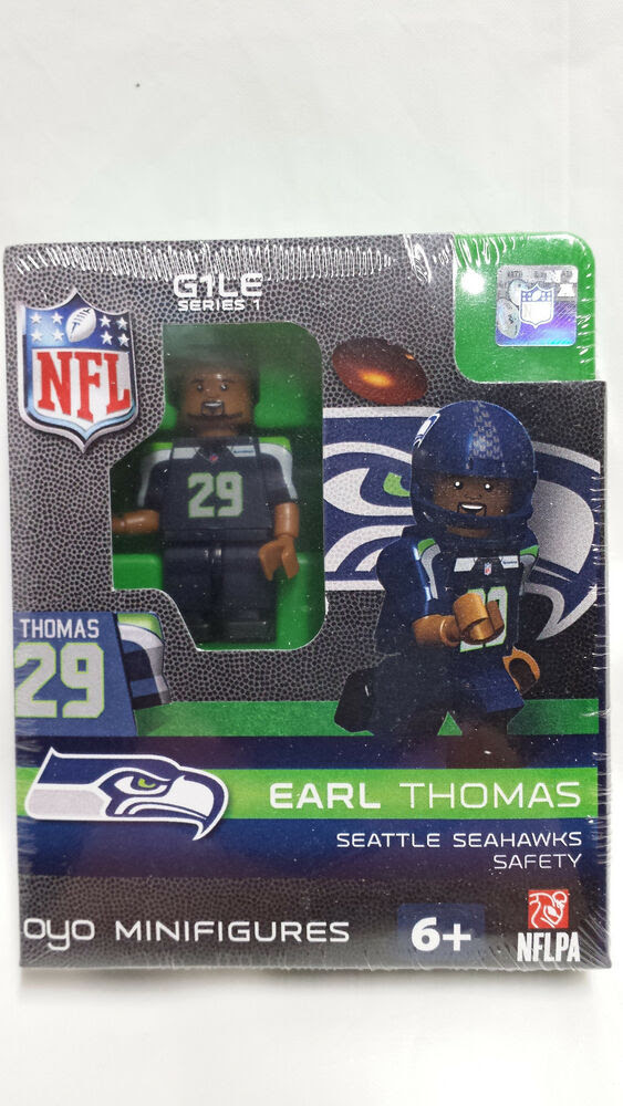 Earl Thomas OYO SEATTLE SEAHAWKS NFL Mini Figure G1 RARE  eBay